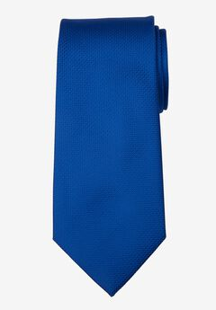 KS Signature Extra Long Classic Textured Tie, ROYAL BLUE