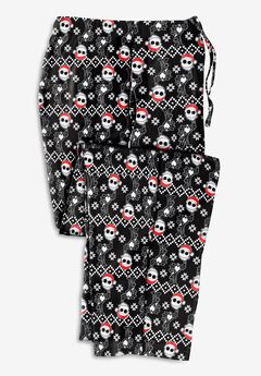 Micro-Fleece Holiday Pajama Pants,