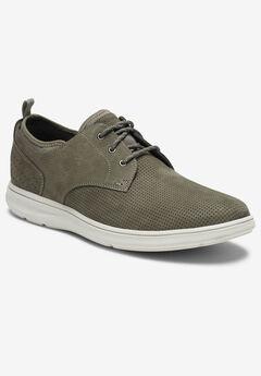 Rockport® Zaden Plain Toe Oxfords, BREEN
