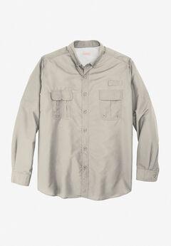 Off-Shore Long-Sleeve Sport Shirt by Boulder Creek®,