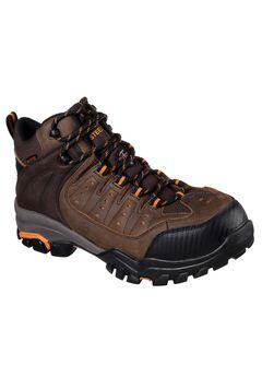 Delleker Lakehead Steel-Toe Work Boot by Skechers®,