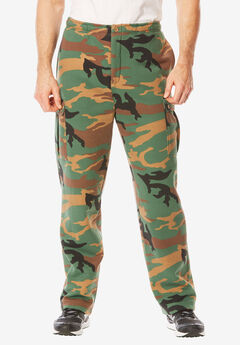 Boulder Creek® Thermal-Lined Cargo Pants,