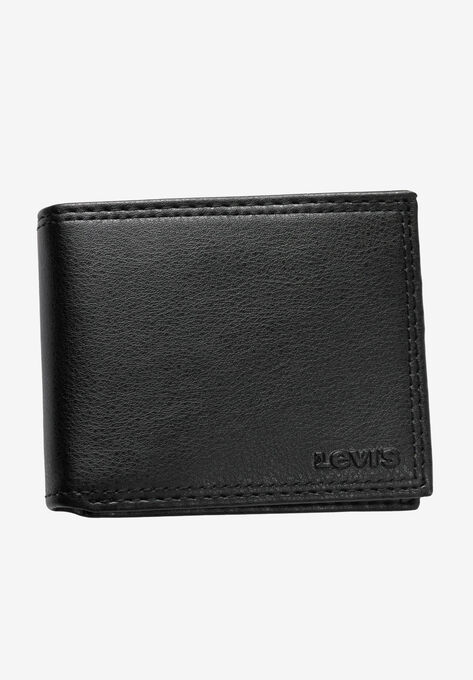 c4792df3 Leather Slimfold Wallet by Levis®| Big and Tall Accessories | King Size