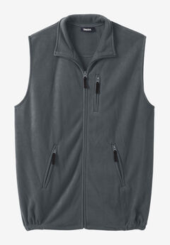 Explorer Plush Fleece Zip Vest,