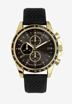 Multi-Dial Silicone Band Watch,