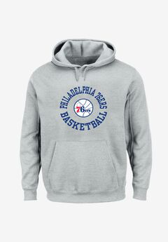 Mitchell & Ness® Throwback Logo Hoodie,