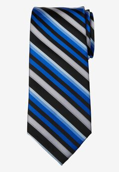 Classic Stripe Tie, BLUE MULTI STRIPE