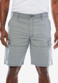 Extreme Comfort Cargo Shorts by Lee®, SILVER