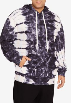 MVP Collections® Tie-Dye Hoodie, ONYX SKY PINK SALT