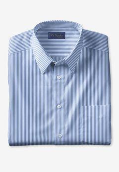 KS Signature No Hassle® Long-Sleeve Dress Shirt, DRESS BLUE STRIPE