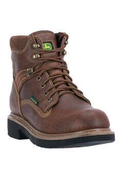 "John Deere® 6"" All Around Waterproof Steel Toe,"