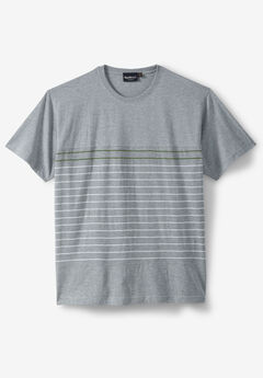 Striped Crewneck T-Shirt by North 56°4®,