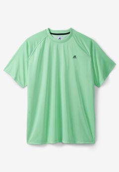 Solid Short-Sleeve Performance Tee by Russell Athletic®,