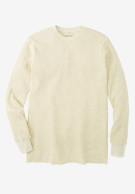 12e5743238e631 Heavyweight Thermal Underwear Crewneck Tee| Big and Tall All T ...