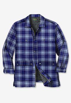 Renegade Shirt Jacket by Boulder Creek®, NAVY PLAID