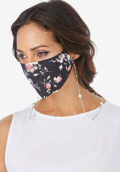 Beaded Face Mask Chain,