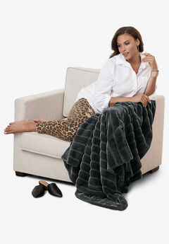 Faux Fur Throw,