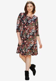 Madison 3/4 Sleeve Dress by ellos®,