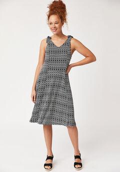 Tie-Shoulder Dress by ellos®,