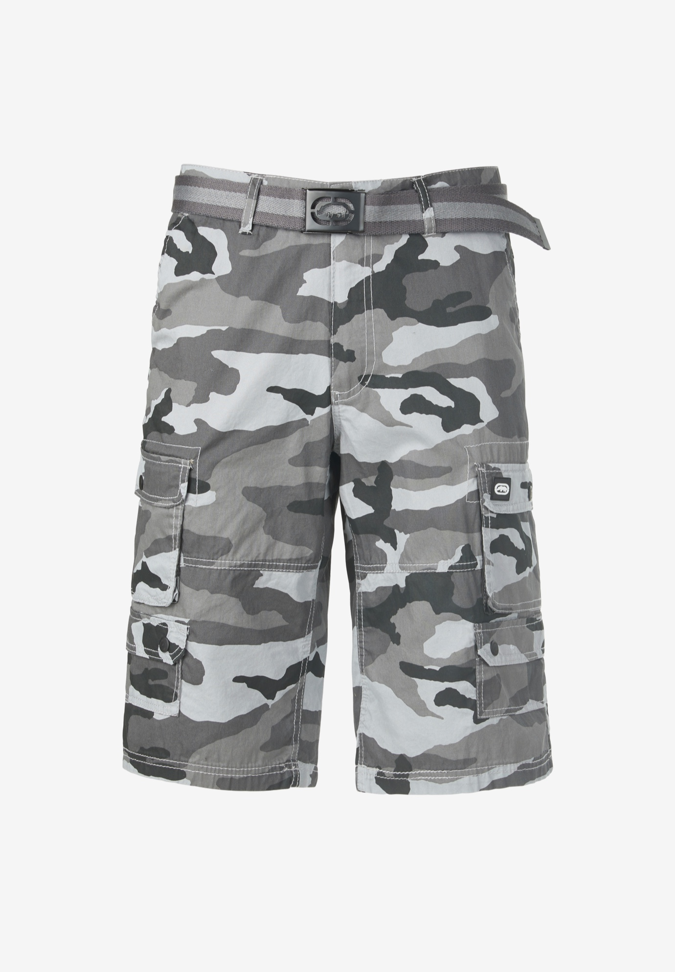 "Ecko® 14"" Cargo Shorts with Belt,"