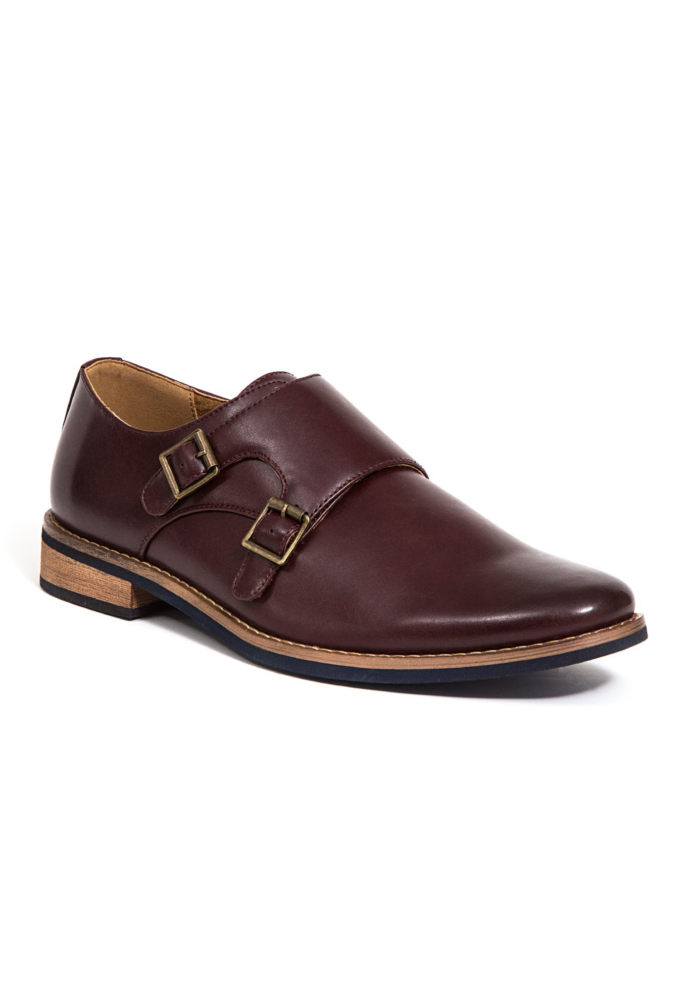 Deer Stags® Cyprus Monk Strap Shoes,