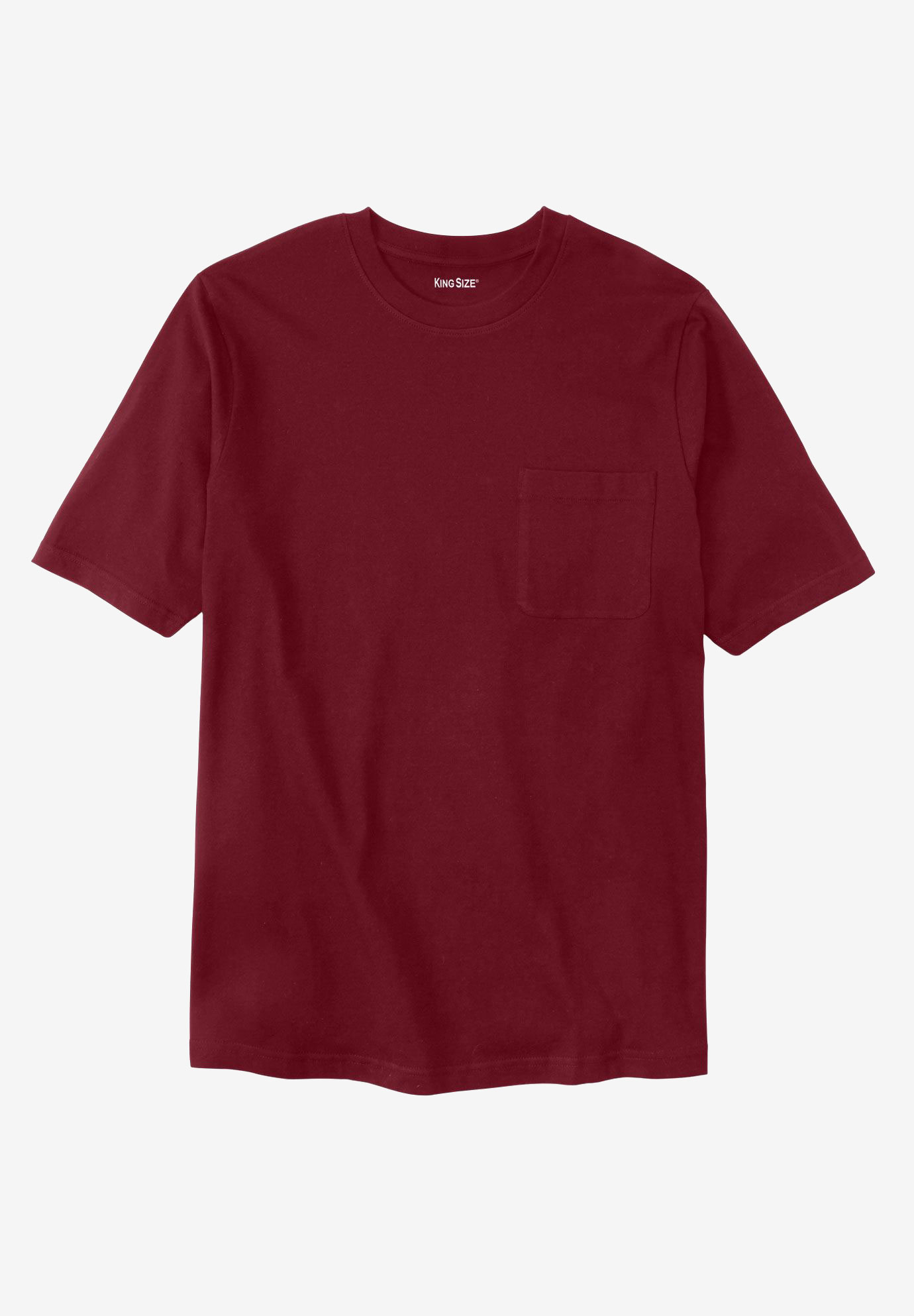Shrink-Less™ Lightweight Crewneck Modern Fit Tee,