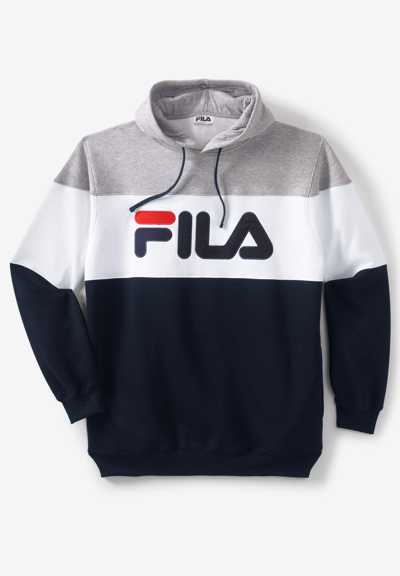 FILA® Colorblock Fleece Hoodie