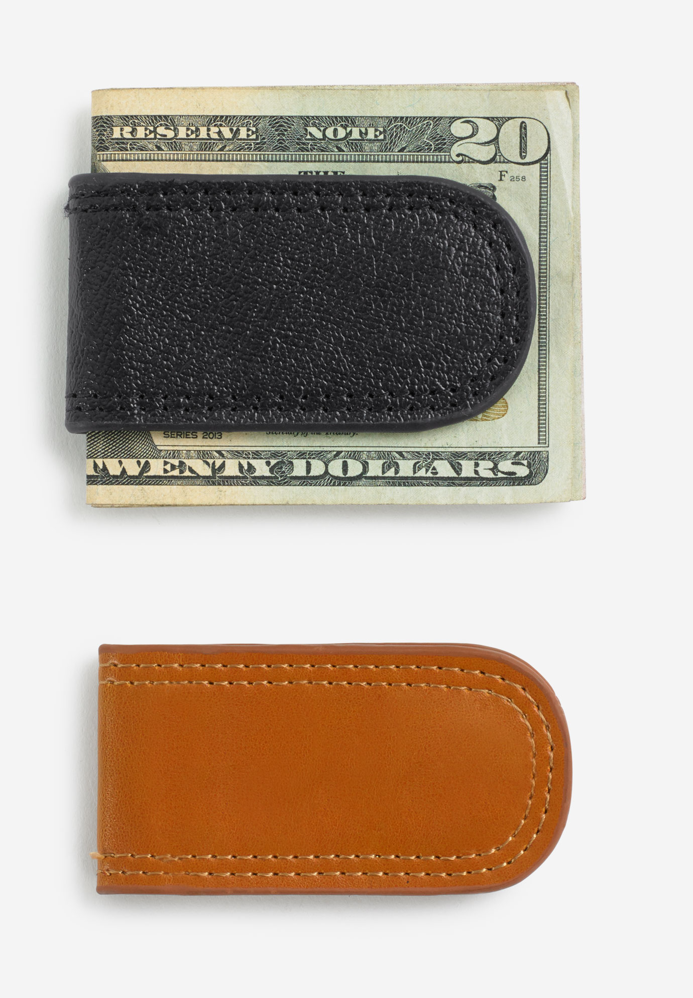 Leather Money Clip,