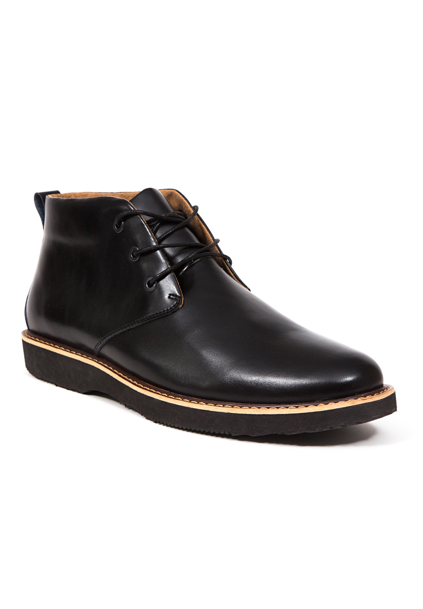 leather shoes with memory foam