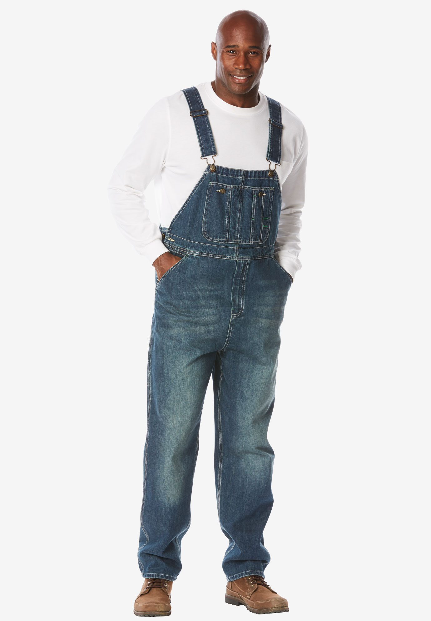 b8182365a62eb Boulder Creek® Denim Overalls| Big and Tall All Jeans | King Size