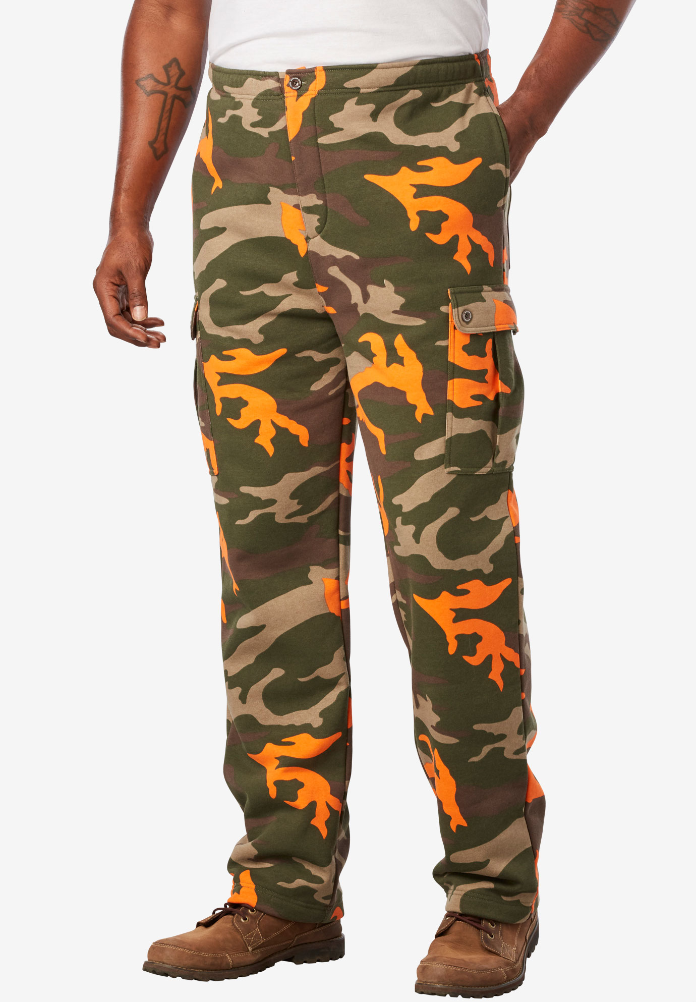 Boulder Creek® Thermal-Lined Cargo Pants,