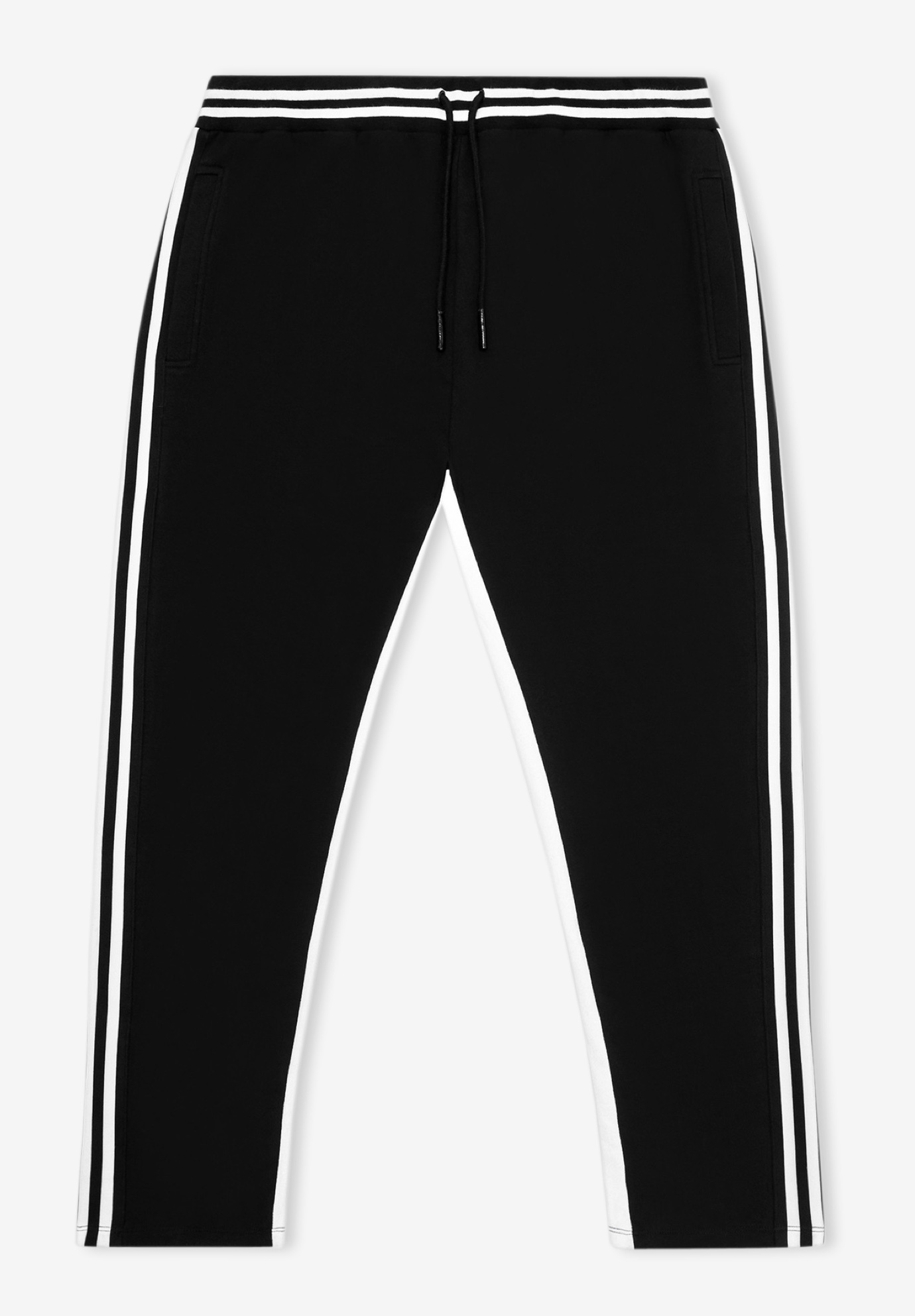 MVP Collections® Striped French Terry Track Pants,