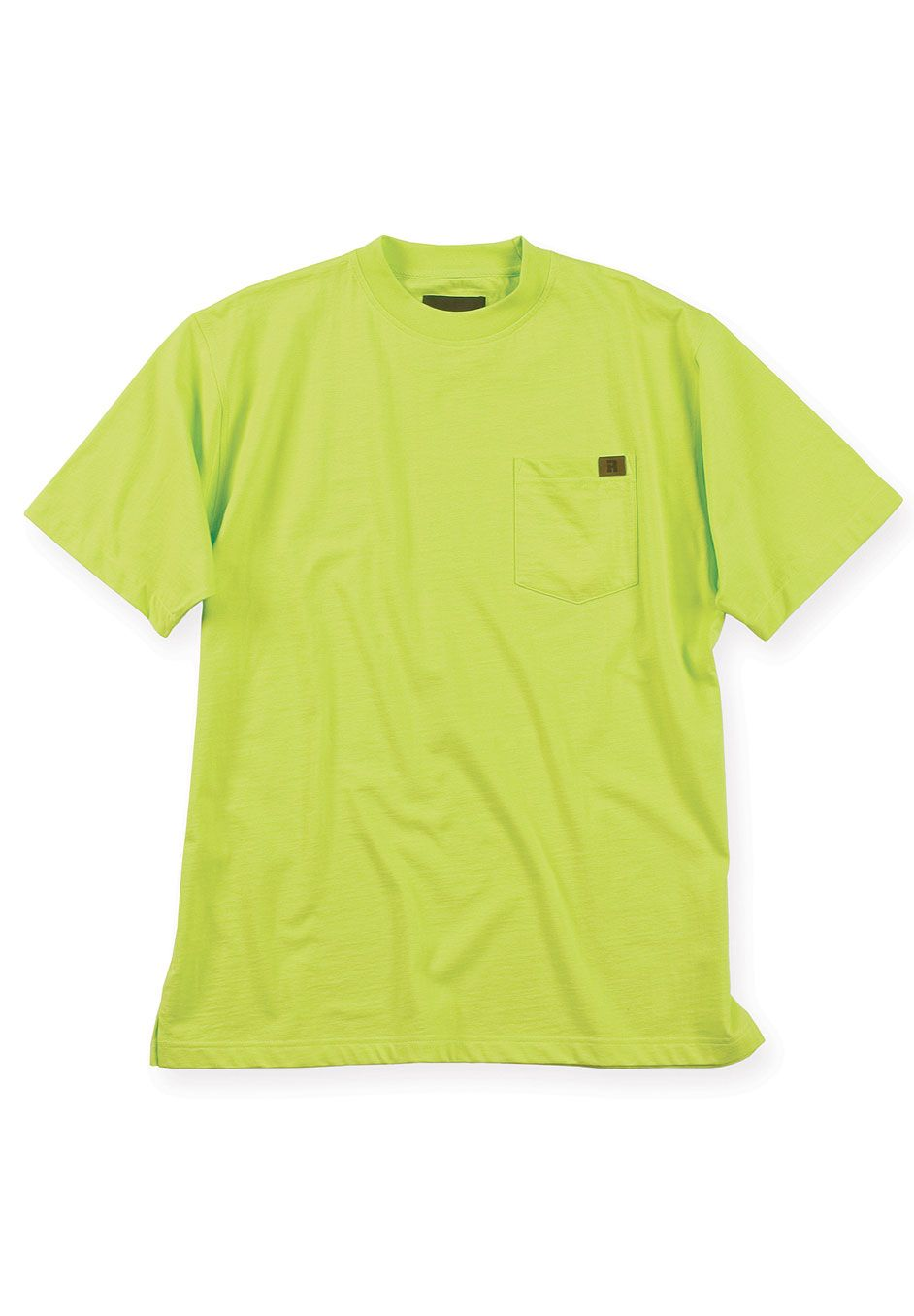 Crewneck Cotton Tee Shirt with Pocket by Wrangler®,