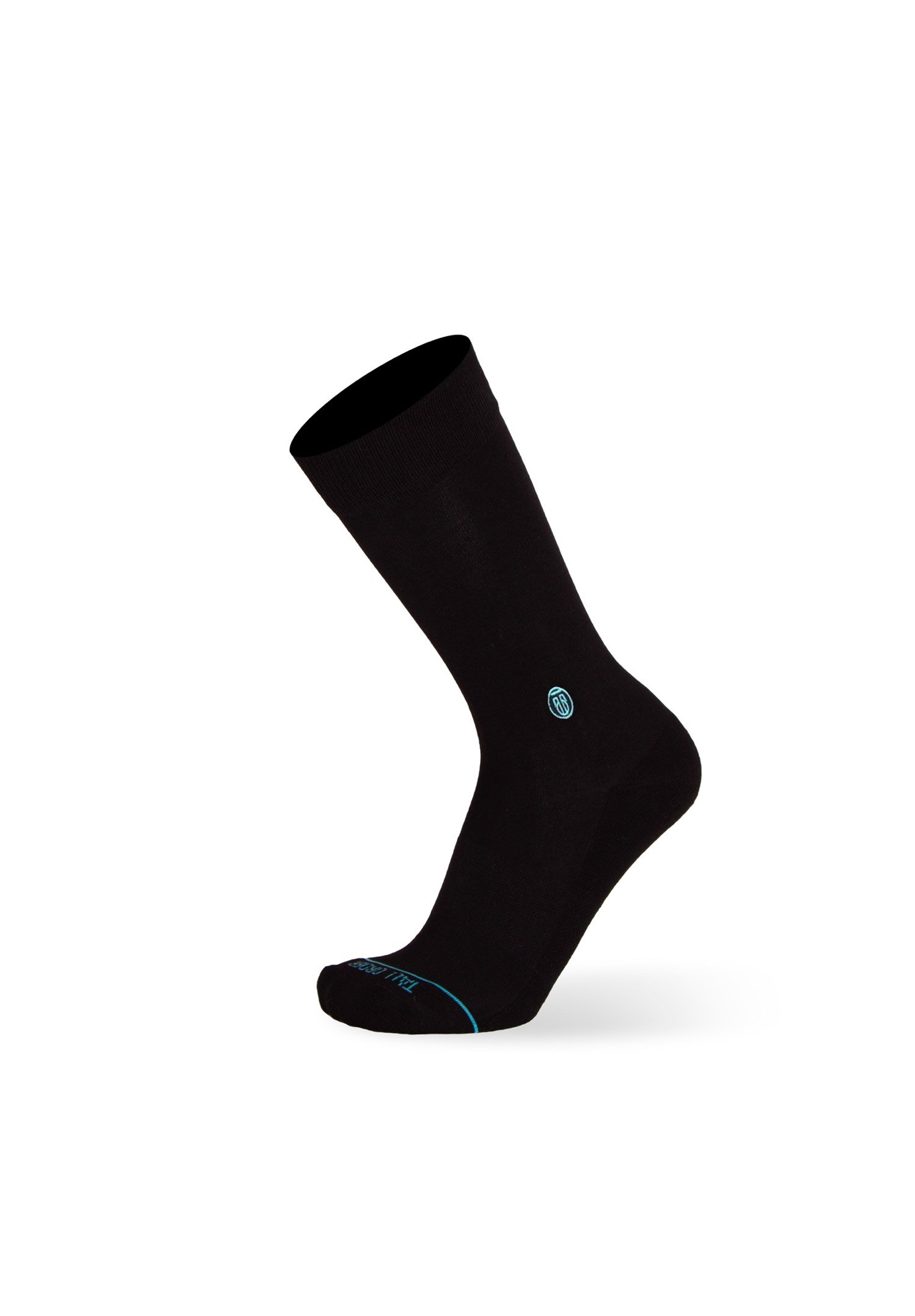 The Solid Black Socks,
