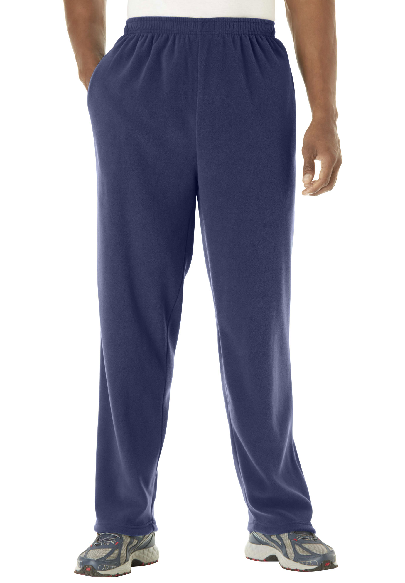 Explorer Fleece Open-Bottom Sweatpants,