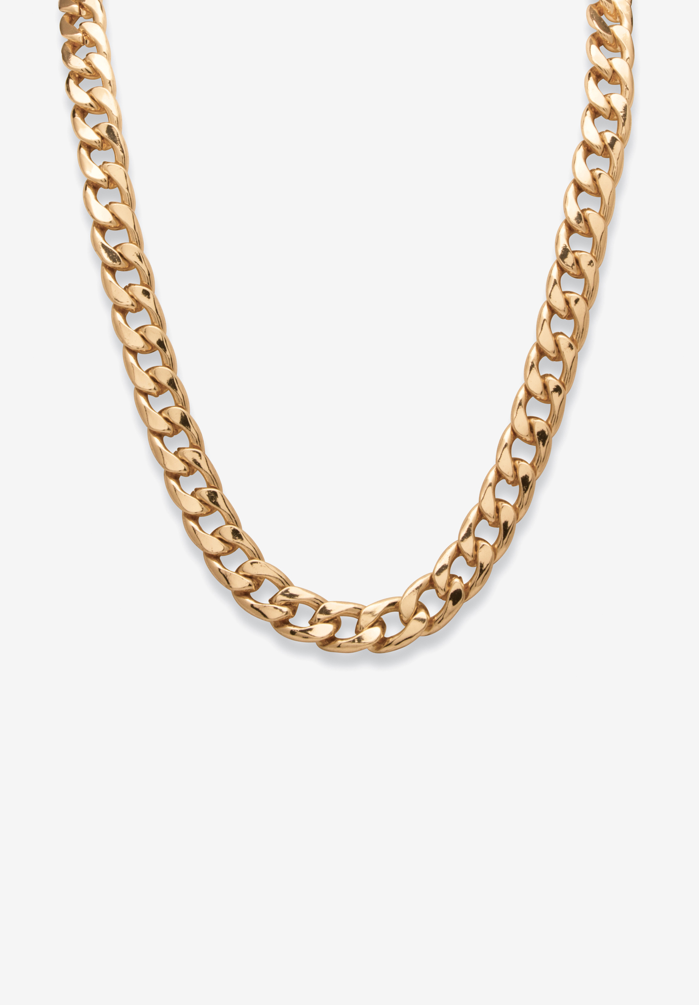"30"" Curb-Link Necklace , GOLD TONE"