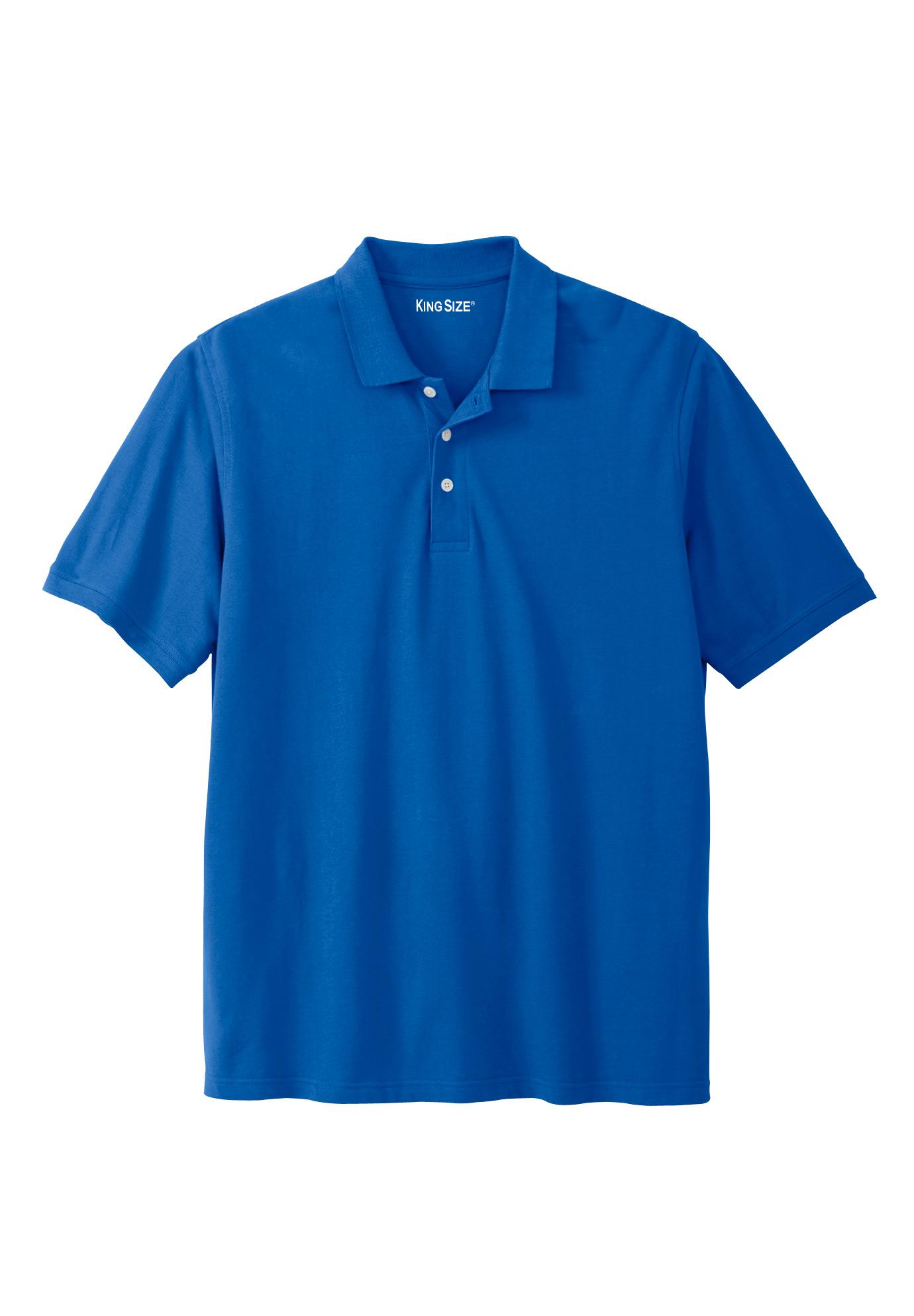 Pique Polo Shirt King Size