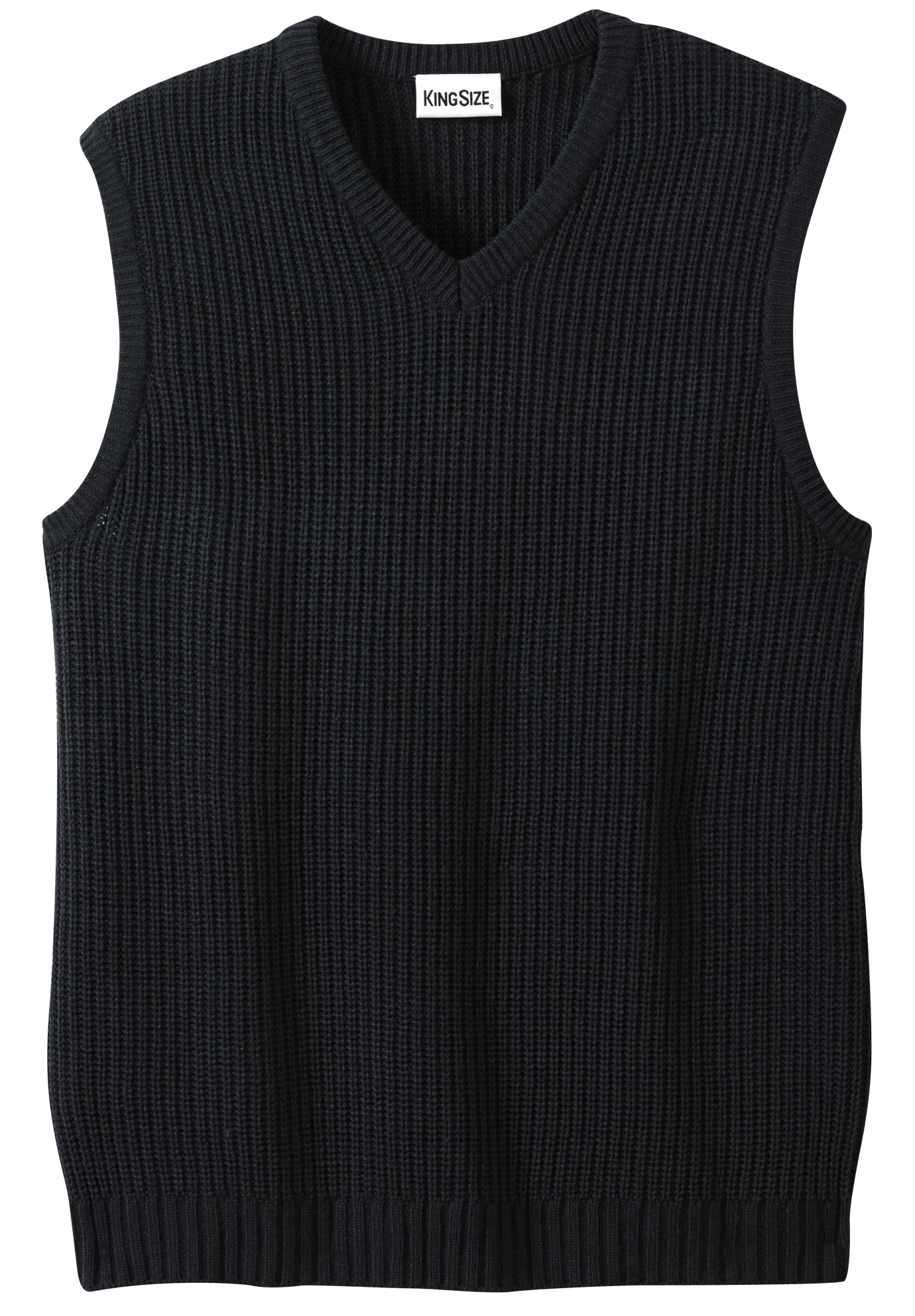 Shaker Knit V-Neck Sweater Vest,