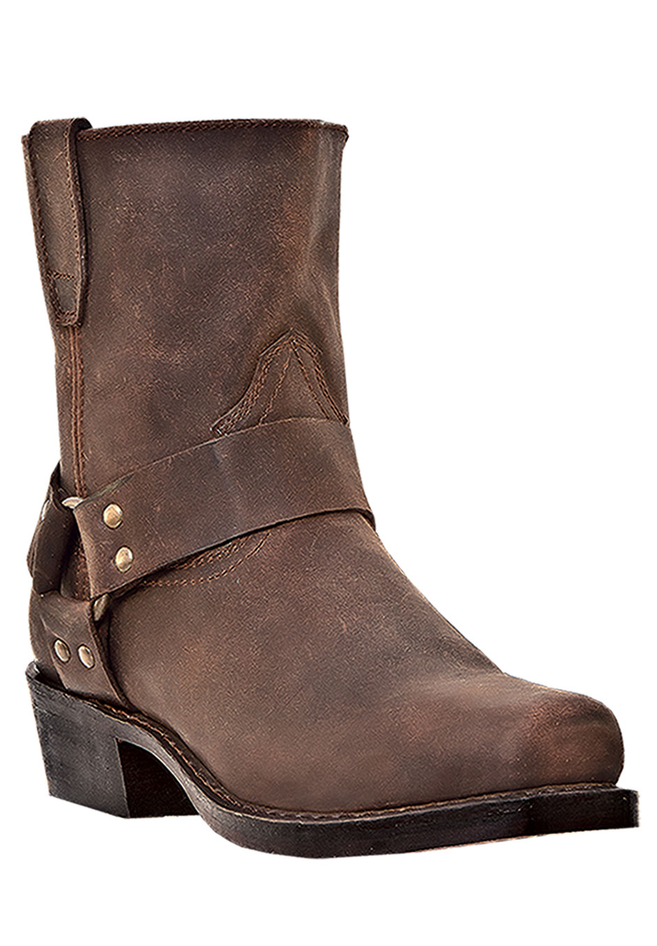 "Dingo 7"" Harness Side Zip Boots,"