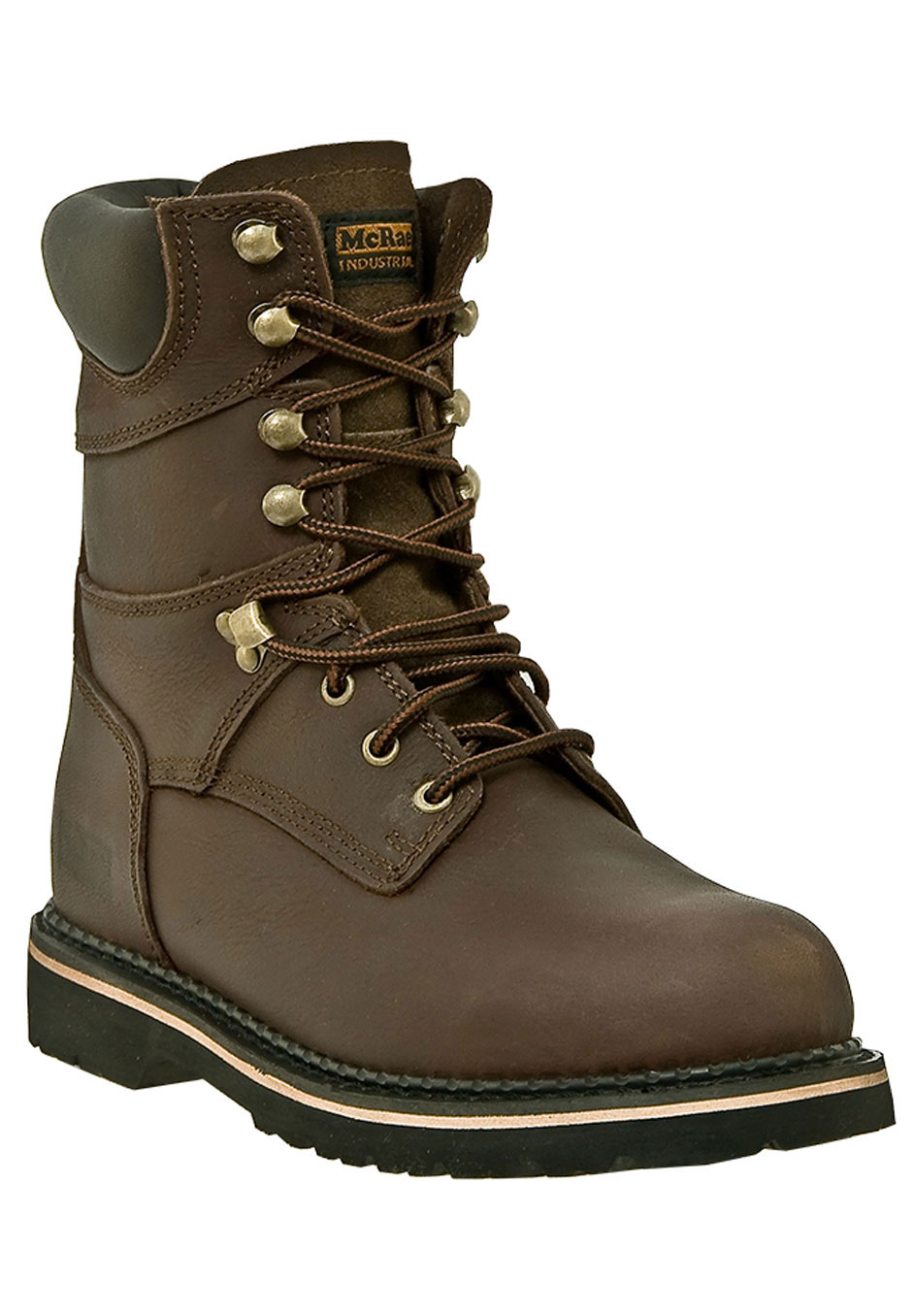 "McRae 8"" Steel Toe Lace Boots,"