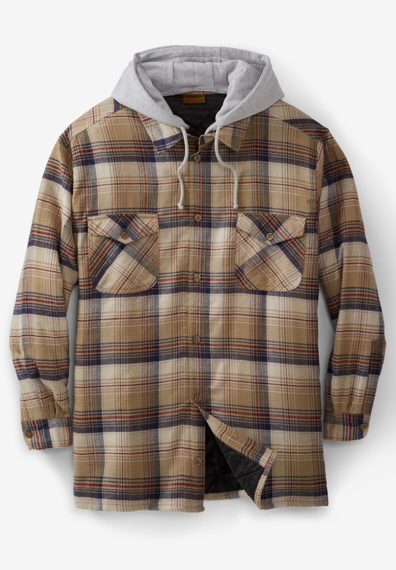 Boulder Creek™ Removable Hood Shirt Jacket,