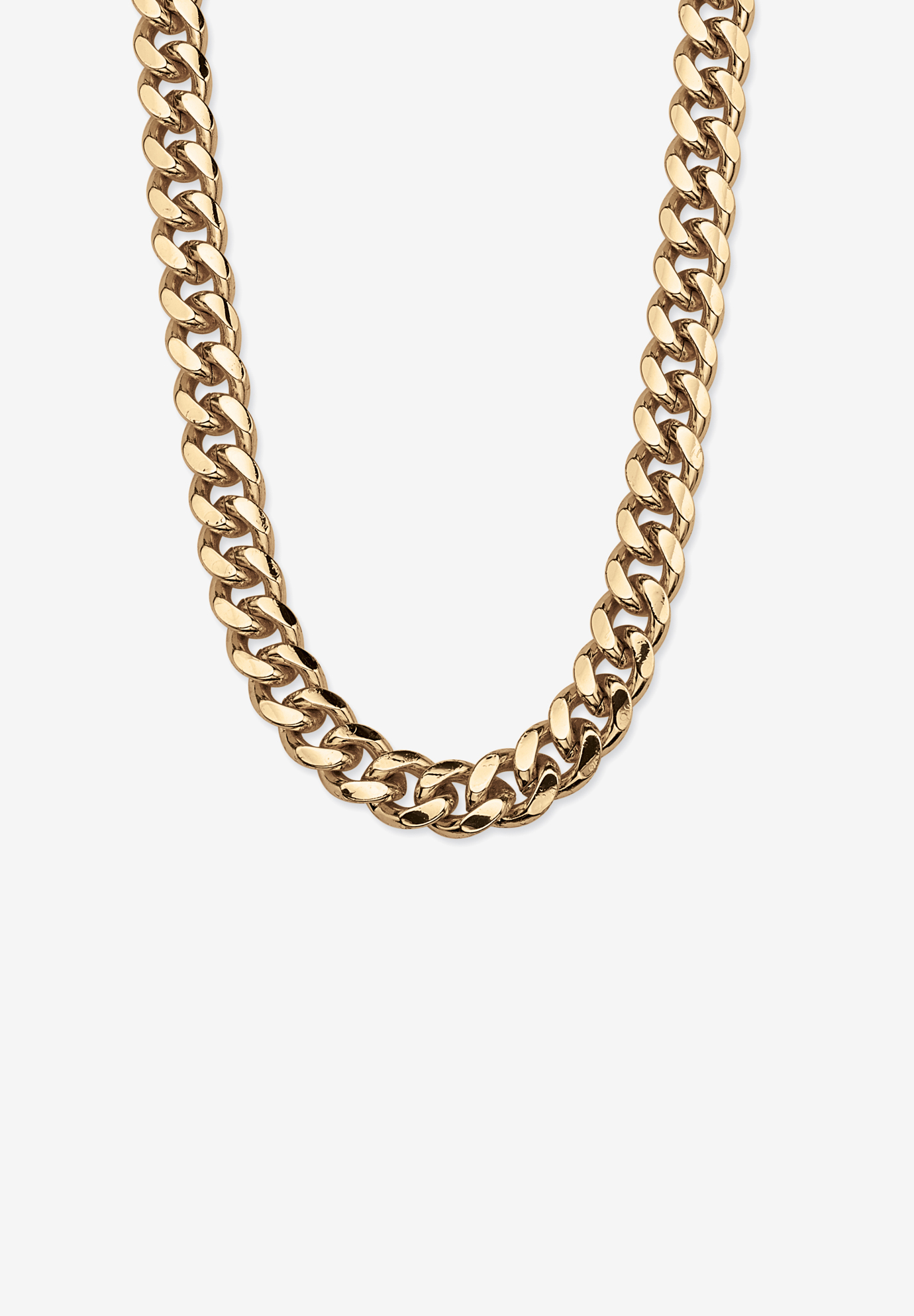Curb-Link Necklace, YELLOW GOLD
