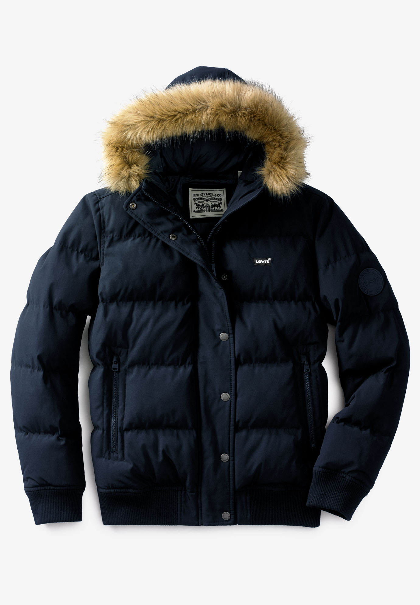 Quilted Snorkel Parka by Levi's®,