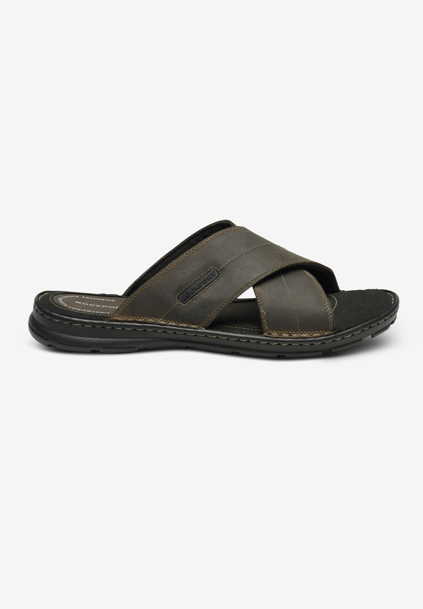 Darwyn Cross Band Slide Sandals by Rockport®,