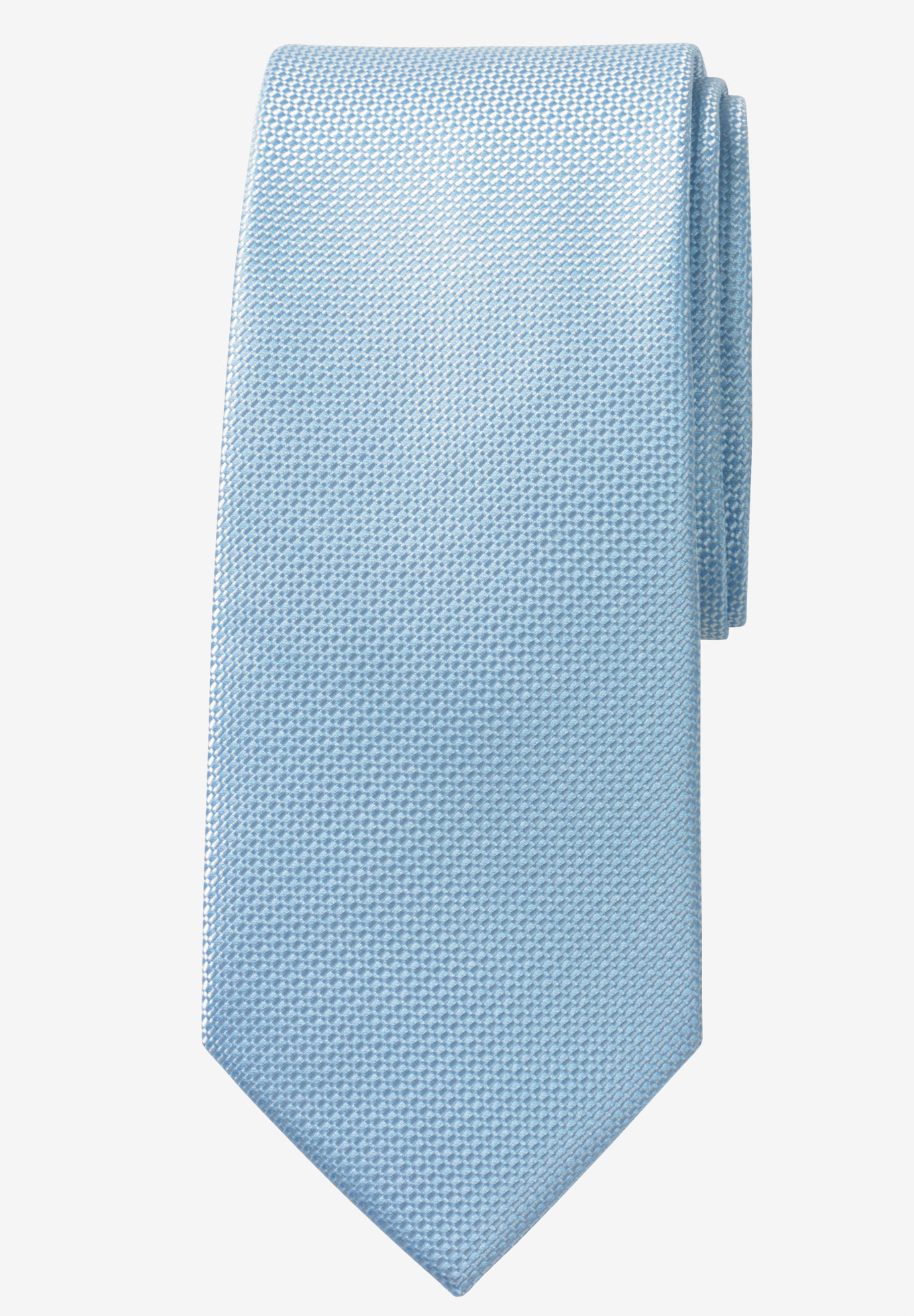 Extra Long Solid Tie by KS Signature, SKY BLUE