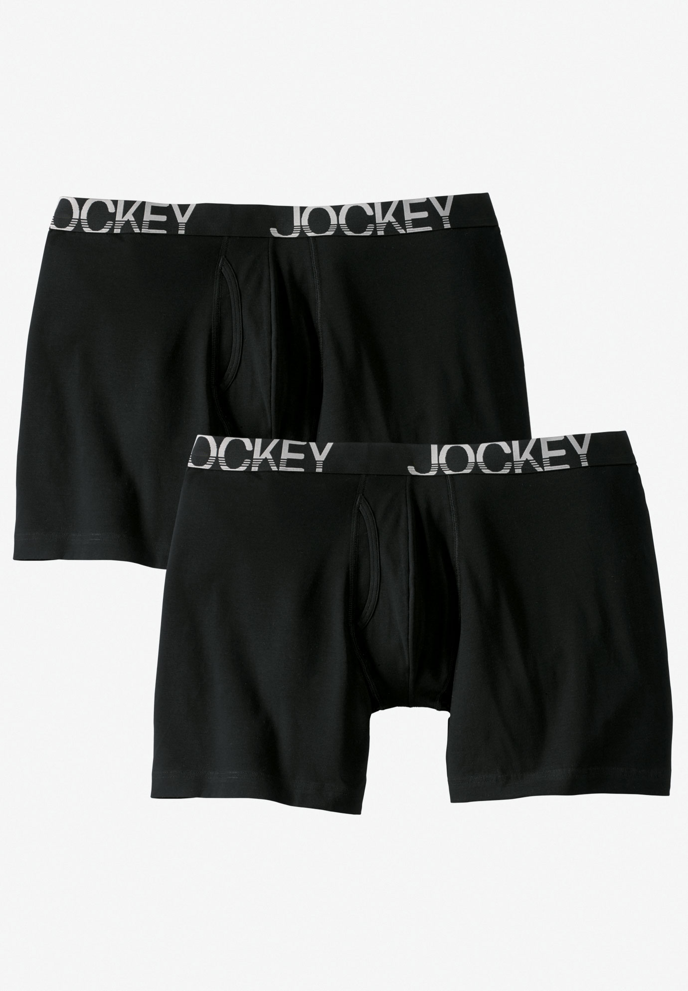 Jockey® Active Micro Midway Briefs 2-Pack,