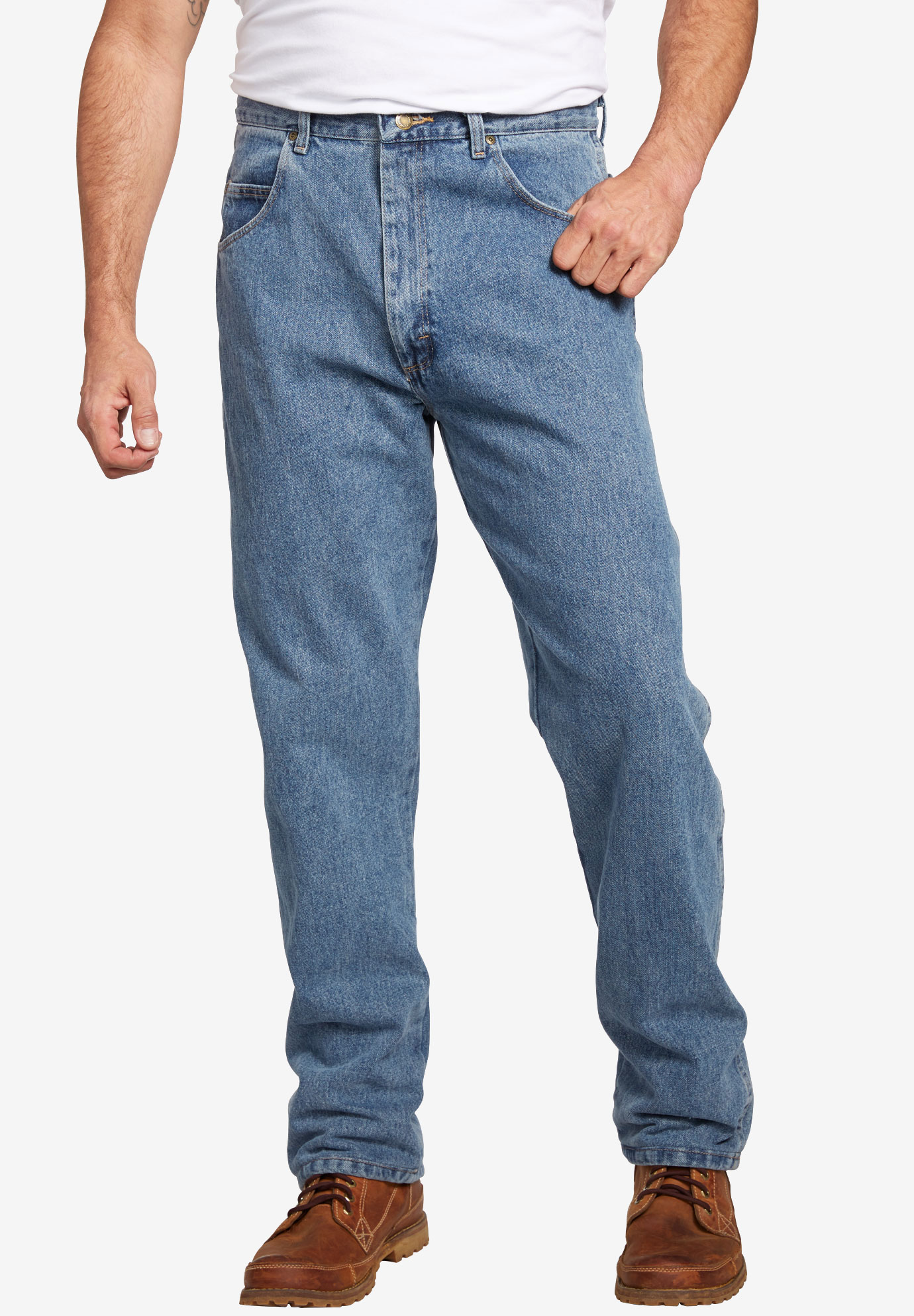 Wrangler® Relaxed Fit Classic Jeans,