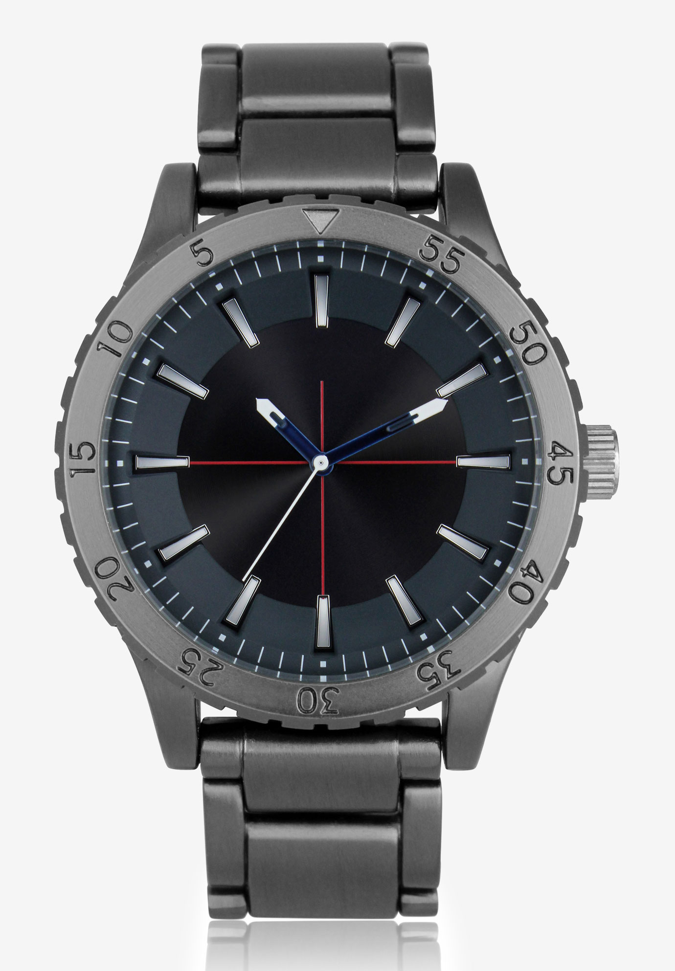 Gunmetal Watch, STEEL NAVY