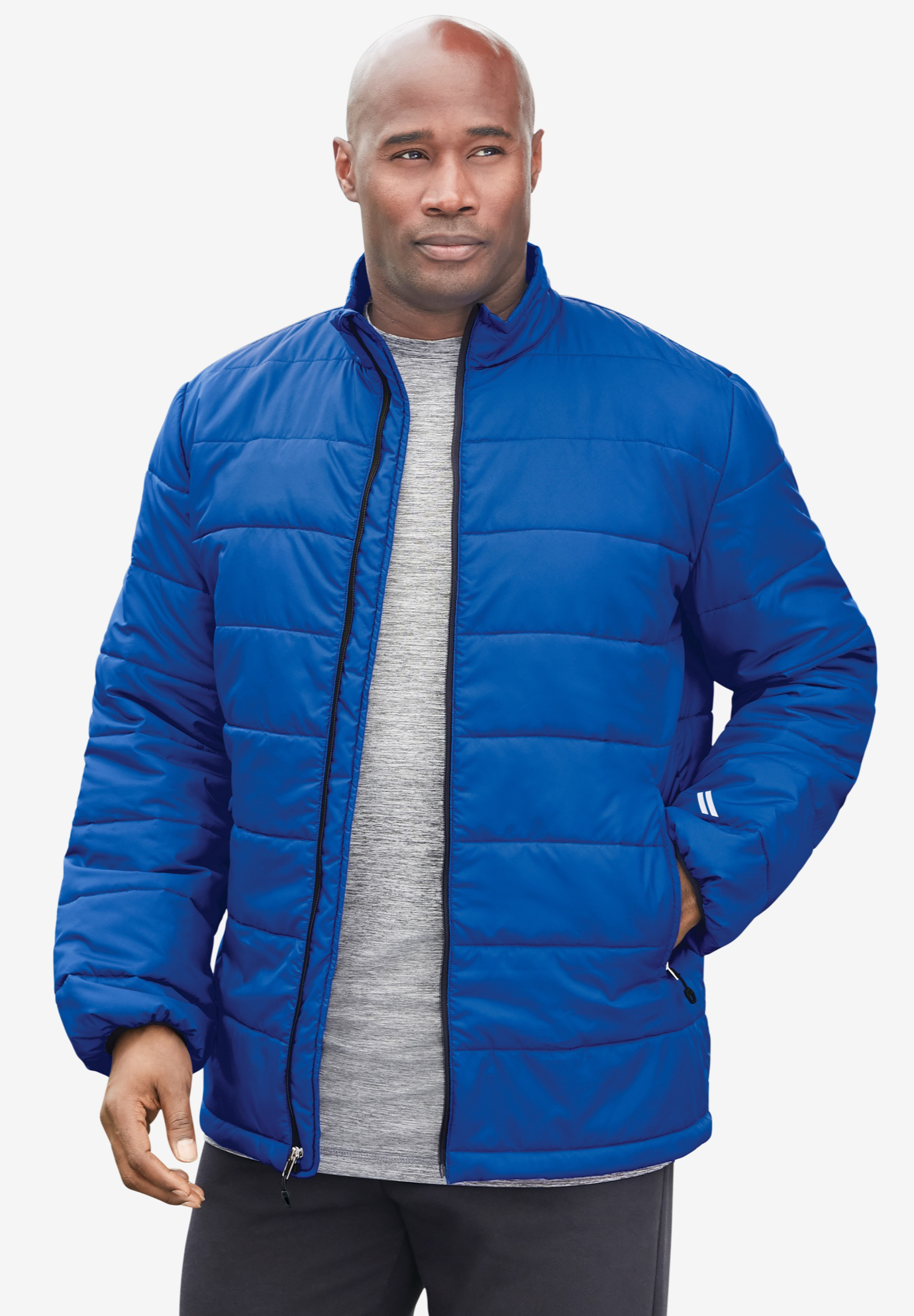 KS Sport™ Lightweight Packable Puffer Jacket,