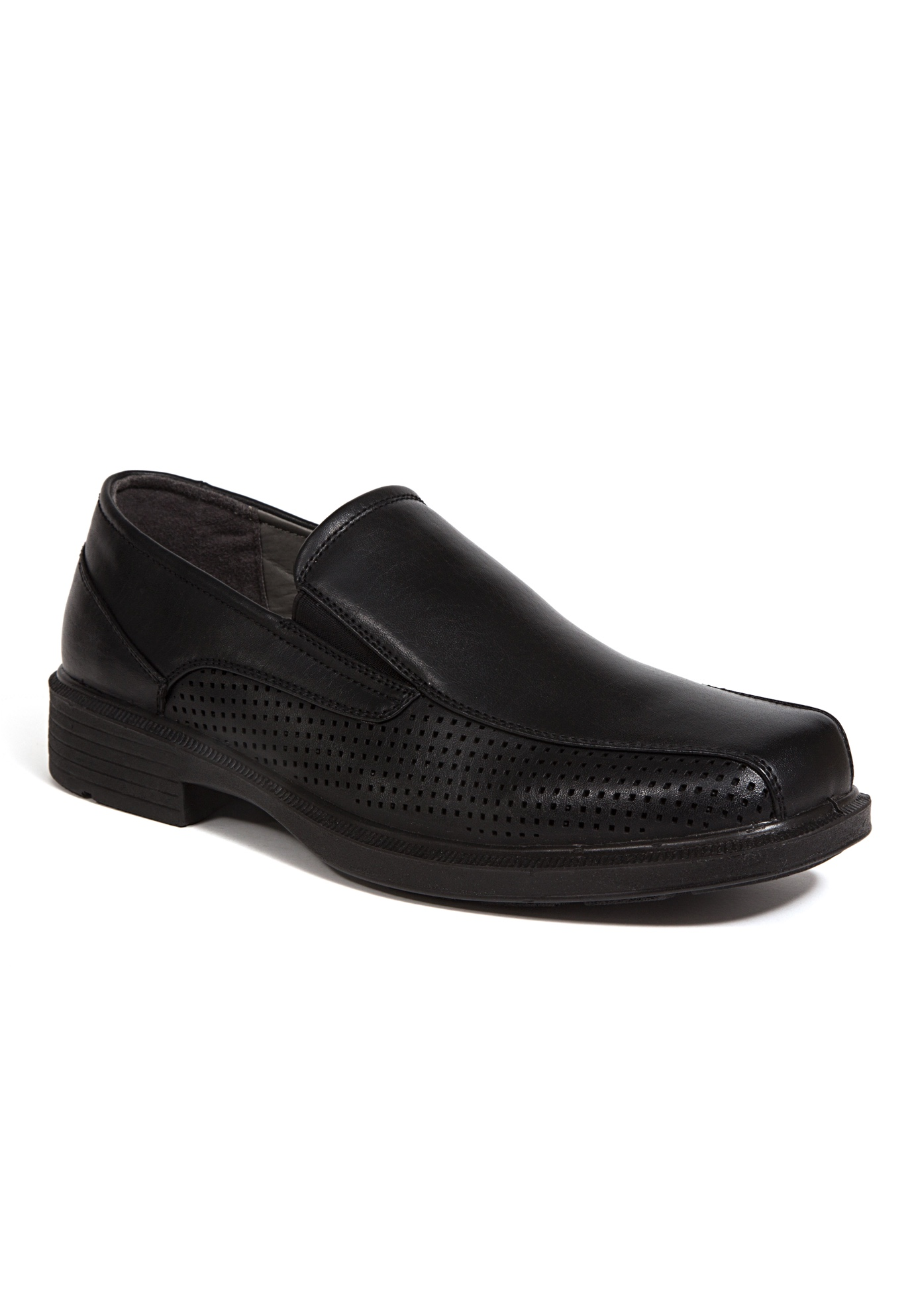 Deer Stags® Fortgreene Lightweight Cushioned Slip-On Bike Toe Loafers,